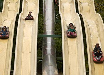 Le Rapido au parc de loisirs Le PAL en Auvergne-Rhône-Alpes