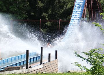 La Rivière Canadienne au parc de loisir Le PAL en Auvergne-Rhône-Alpes