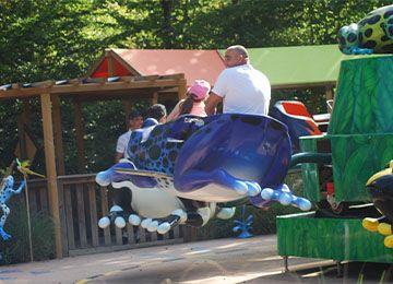 La Ronde des Grenouilles au parc de loisirs Le PAL en Auvergne-Rhône-Alpes