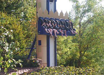 La Tour Mystérieuse au parc de loisirs Le PAL en Auvergne-Rhône-Alpes