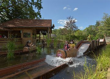 La Rivières des castors au parc d'attraction Le PAL