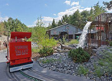 Les Yukon Trucks au parc d'attraction Le PAL