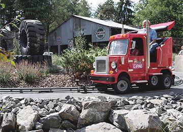 Un Yukon Truck au parc d'attraction Le PAL